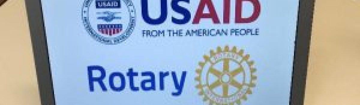 Distretto Rotary 2031 e USAID
